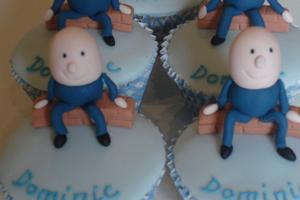 Humpty Cupcakes Cake